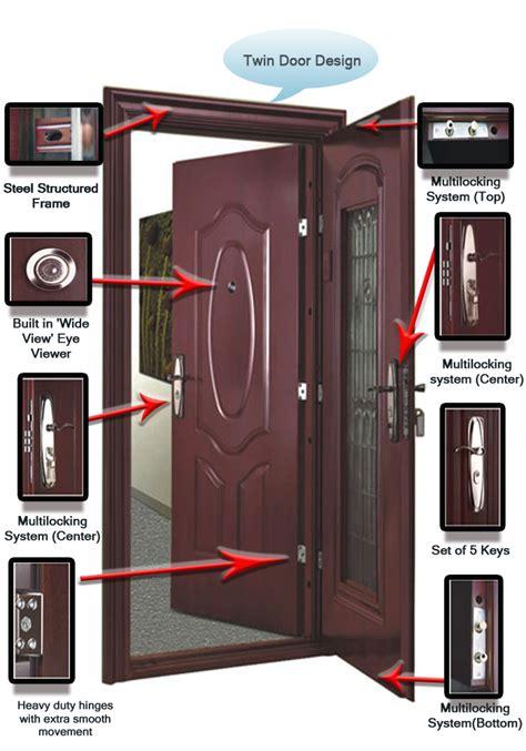 Main Door Design Photos India Fine Cement Product Entasafe Steel Doors Anti Theft Door