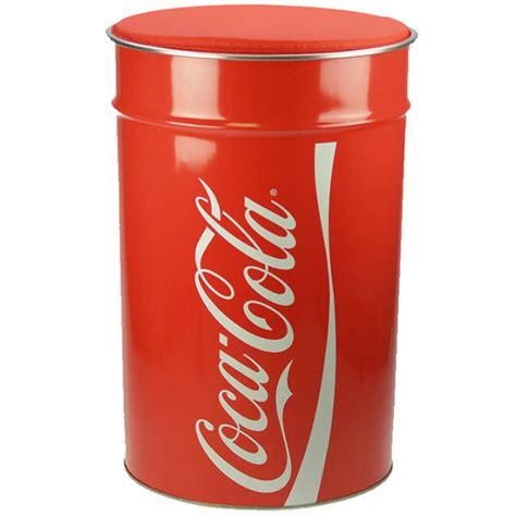 Tabouret Coca Cola by Tabouret Coffre Poubelle Coca Cola 3 En 1