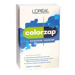 sallys hair color remover l oreal colorzap haircolor remover