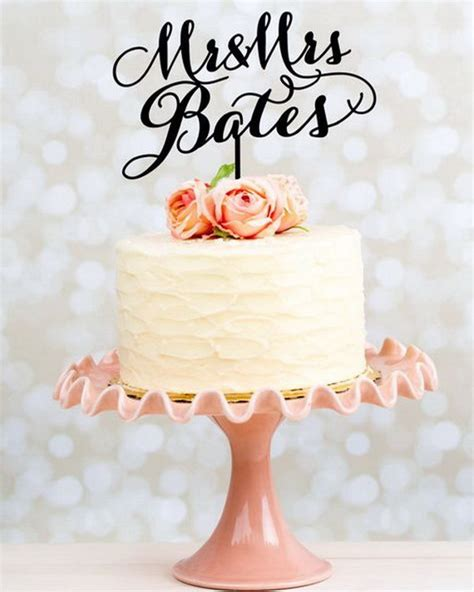 Wedding Cake Toppers Simple by 5 Wedding Cake Topper Designs To Inspire