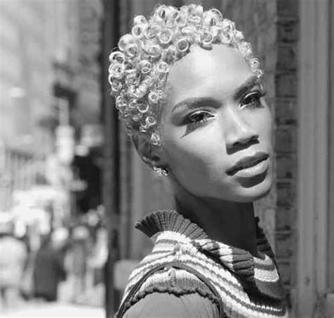 grey natural short cut for african american women 28 best images about curly short hair ideas on pinterest