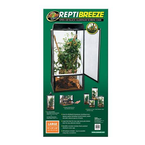 zip supplement 09112 reptibreeze aluminum screen cage
