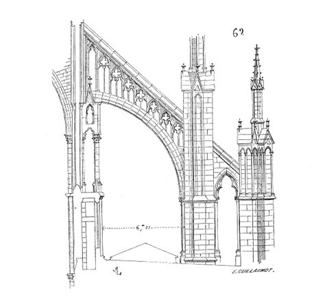 flying buttress architectural travels