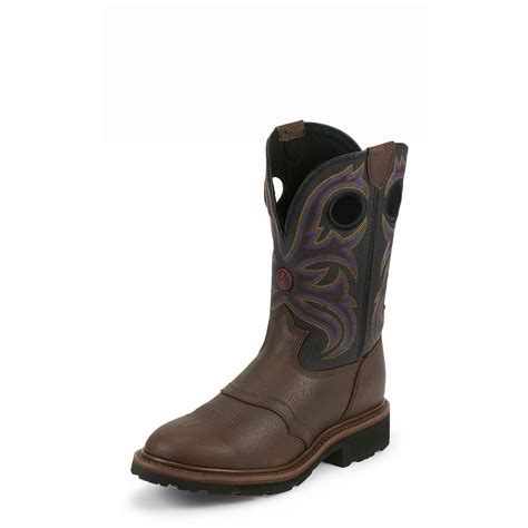 tony lama work boots tony lama briar grizzly 3r work boots 11 quot rr3207