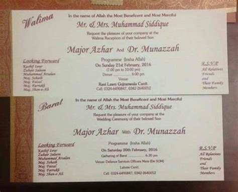 matter for muslim wedding cards in wedding and jewellery indian muslim wedding cards matter in