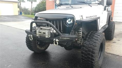 Jeep Tj Grille Jeep Tj Lj Angry Grill From Southeast Jeeps Southeast