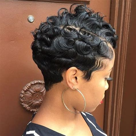 curl release for african american hair love the texture on this pixie waves and curls