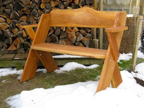leopold bench handcrafted items pleasant lake hardwoods