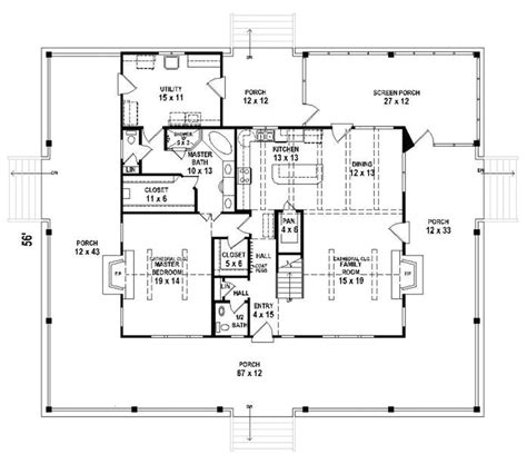 floor plans with porches wrap around porch house plans for a exterior