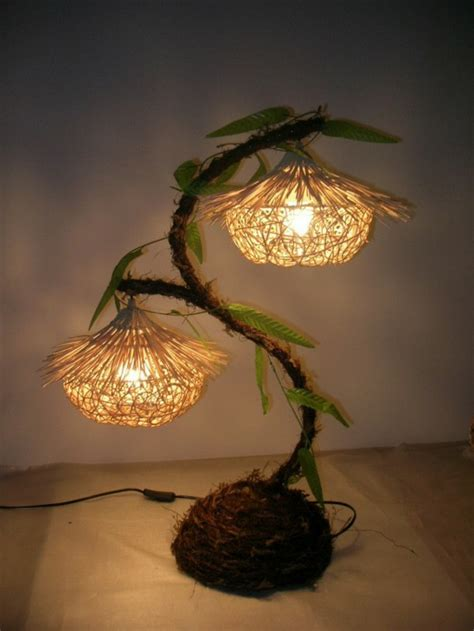 Handmade Lights - 20 ideas for creative handmade ls hum ideas
