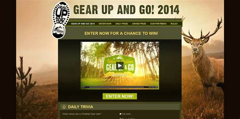 Outdoor Channel Sweepstakes - outdoor channel s gear up and go sweepstakes gearupandgo outdoorchannel com