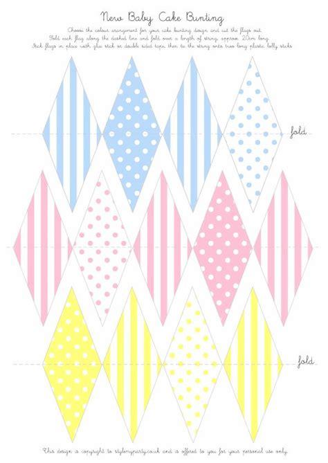 printable mini bunting flags cake pastel bunting free printable free printable