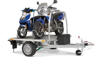 Motorradanhänger Für 9 Motorräder by Sawiko Universalanh 195 164 Nger Wheely Wheely Duo Und Traigo