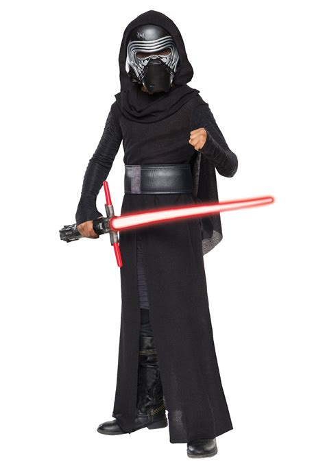 wars costumes child deluxe wars the awakens kylo ren villain costume