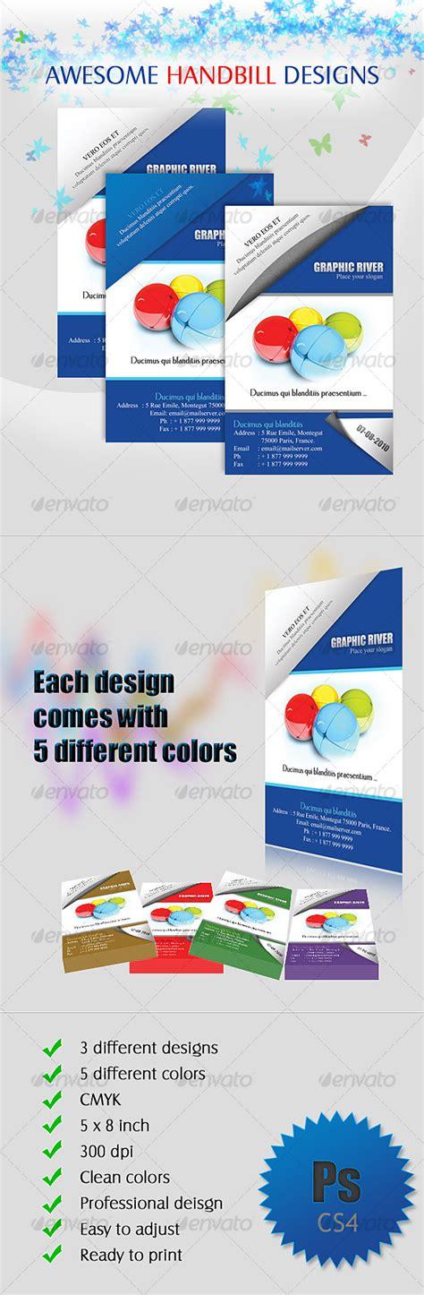 handbills design templates free handbill flyer designs by rromila graphicriver