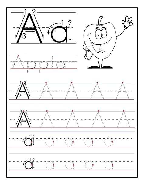 Children S Worksheets by Worksheet Abc Tracing To Learn Writing Loving Printable