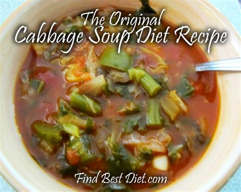 Vegetable Soup Detox Diet Plan by Cabbage Soup Diet Recipe Lose 10 Pounds In One Week