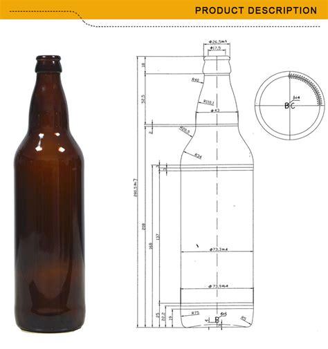 1 oz bottle size standard 650ml glass bottle size buy standard