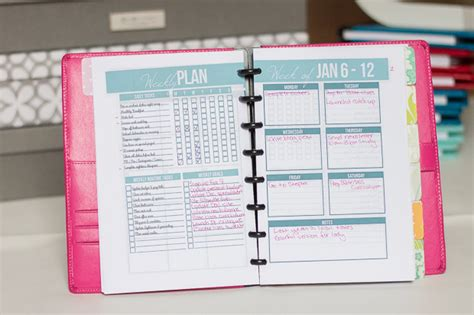 build a planner create your own planner my 2014 planner i heart planners