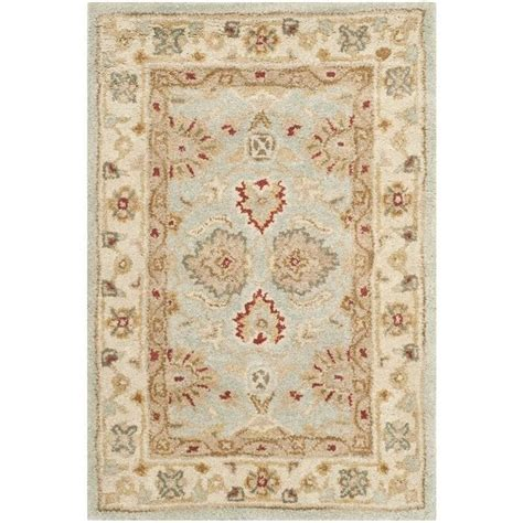 Safavieh Antiquity Safavieh Antiquity Grey Blue Traditional Rug 2 X 3