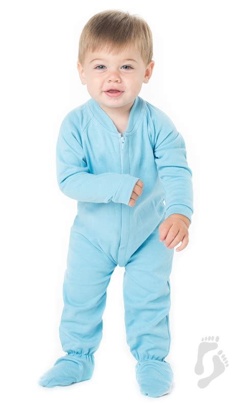 Baby Footed Sleepers by Baby Blue Infant Cotton Footed Pajamas Infant Pajamas