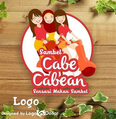 desain logo makanan unik desain logo makanan ringan desain