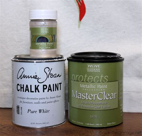 chalk paint masters metallic vintage nightstand themed furniture makeover