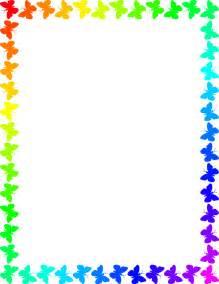 butterfly rainbow frame frames animal butterfly butterfly rainbow frame png html
