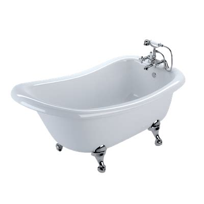 transparent bathtub ornate freestanding bath transparent png stickpng
