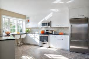 White Kitchen Cabinets With Stainless Steel Appliances 34 Gorgeous Kitchens With Stainless Steel Appliances