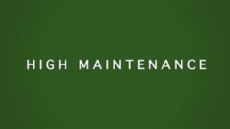 Book Review High Maintenance By by High Maintenance Tastedive