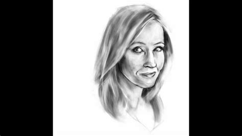 J K Rowling Sketches by Jk Rowling Sketch