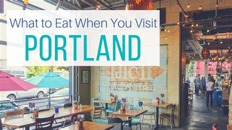 Let Me Give You Some Advice Try To Approach Things - where to eat when you visit portland oregon