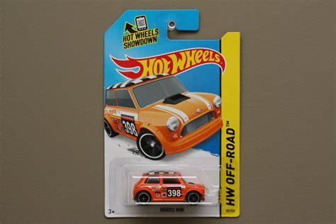 Wheels Pop Offs Morris Mini 2 wheels 2015 hw road morris mini cooper orange