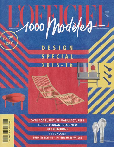 design magazine francais published on l officiel 1000 models special issue design