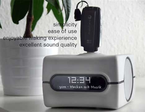 up and walk alarm clock freshome