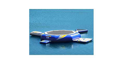 aquaglide platinum water trolines aquaglide platinum supertr 23 foot water troline 2015
