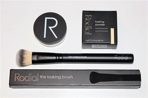 Rodial Baking Powder rodial baking powder baking brush review reallyree