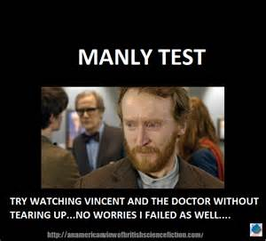 Doctor Who Memes - doctor who vincent meme