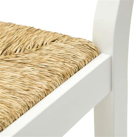sgabelli country sgabello country in legno laccato bianco con seduta in