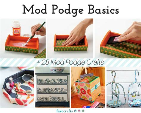Decoupage Techniques Ideas - mod podge basics 28 mod podge crafts favecrafts