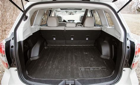subaru forester touring interior car and driver