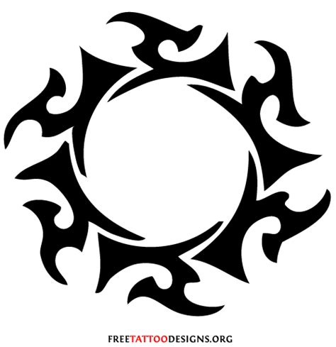 tribal circle designs clipart best