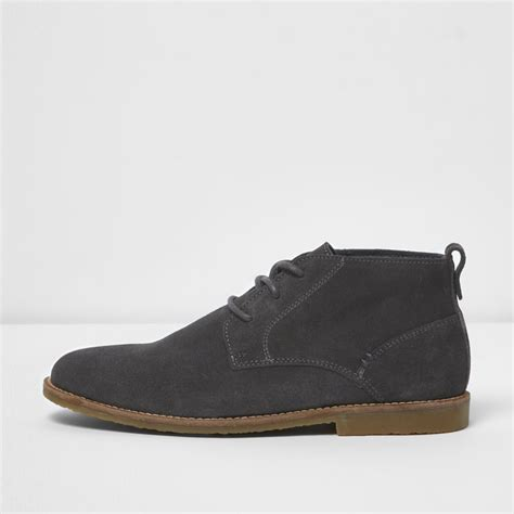 Boots Grey grey suede desert boots boots shoes boots