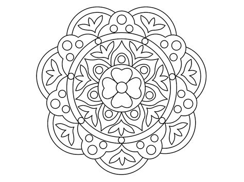 rangoli coloring pages printable rangoli patterns coloring pages