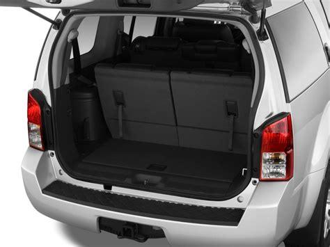 pathfinder nissan trunk image 2012 nissan pathfinder 4wd 4 door v8 le trunk size