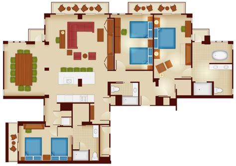 disney 3 bedroom villas copper creek villas and cabins at disney s wilderness lodge