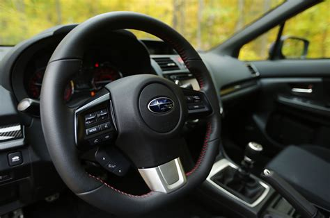 subaru steering wheel 2015 subaru wrx premium four seasons introduction