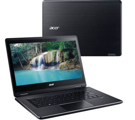 Laptop Acer 14 Inch Intel I3 acer 14 quot laptop windows 10 intel i3 4gb ram 128 ssd w lifetime tech qvc