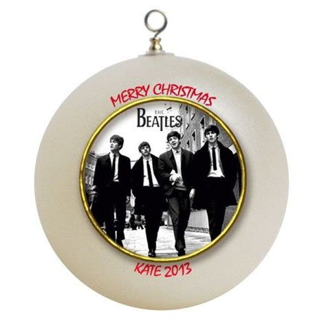 the beatles personalized custom christmas ornament